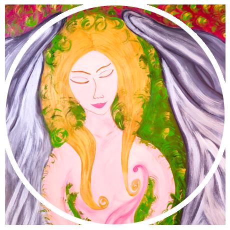 Deusa Afrodite, por Rosicler Inês Barbiero de Vargas